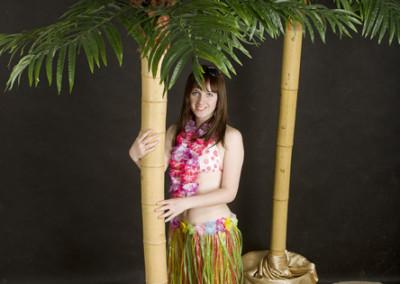 Palma na pniu bambusowym2